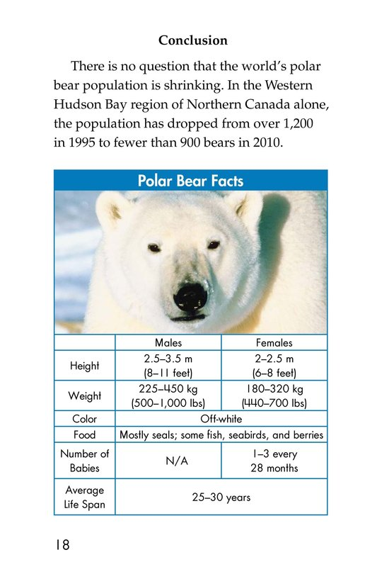 Book Preview For Plight of the Polar Bear Page 12