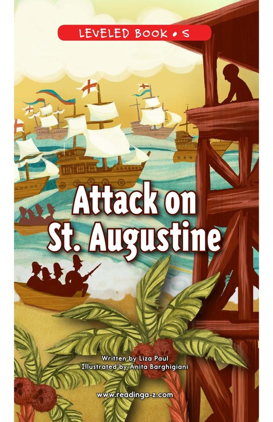 Book Preview For Attack on St. Augustine Page 0