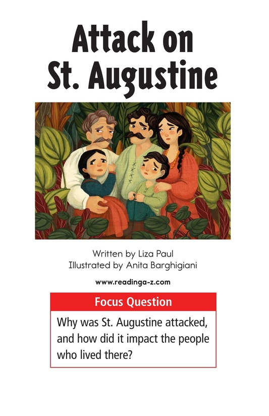 Book Preview For Attack on St. Augustine Page 1