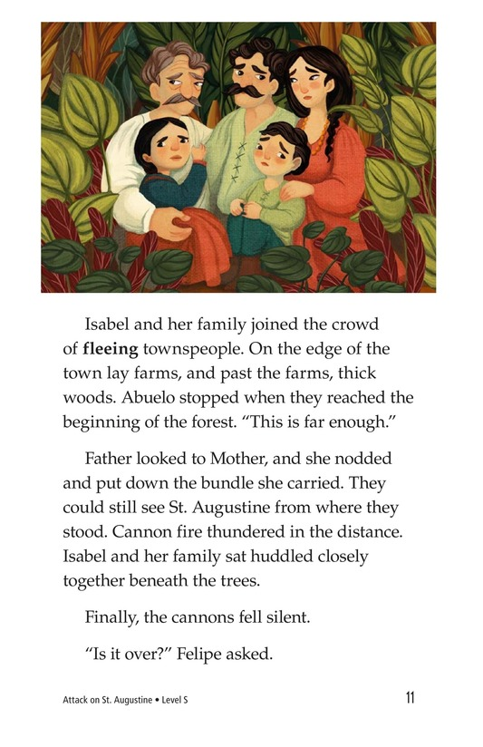 Book Preview For Attack on St. Augustine Page 11