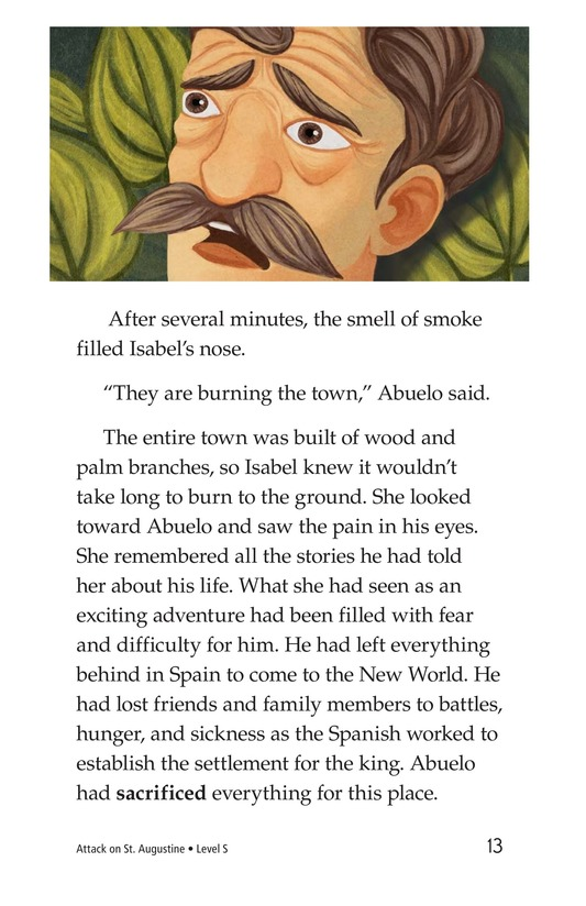 Book Preview For Attack on St. Augustine Page 13