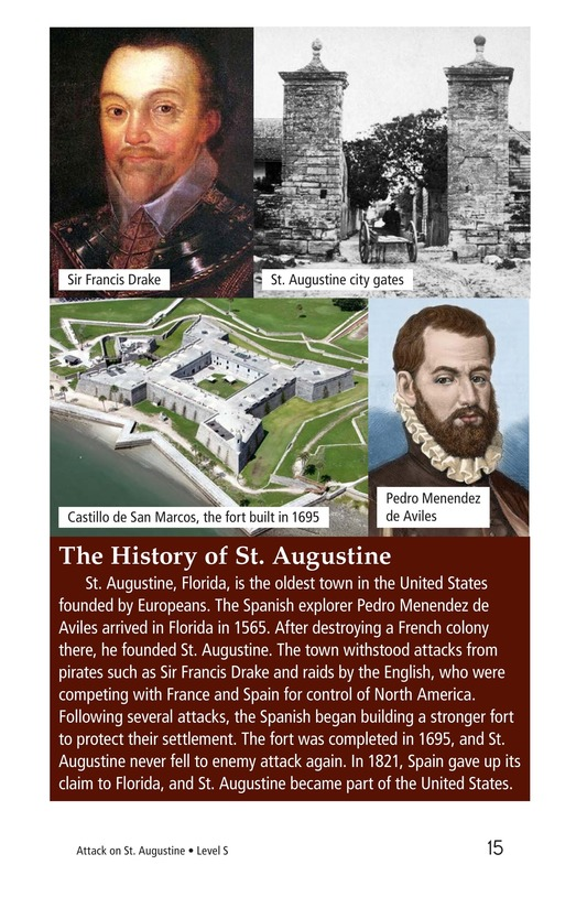 Book Preview For Attack on St. Augustine Page 15