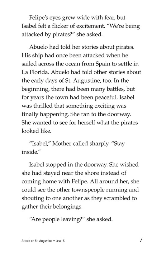Book Preview For Attack on St. Augustine Page 7