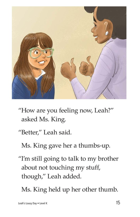 Book Preview For Leah's Lousy Day Page 15