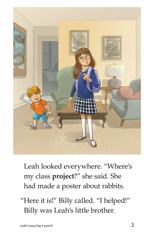 Book Preview For Leah's Lousy Day Page 3