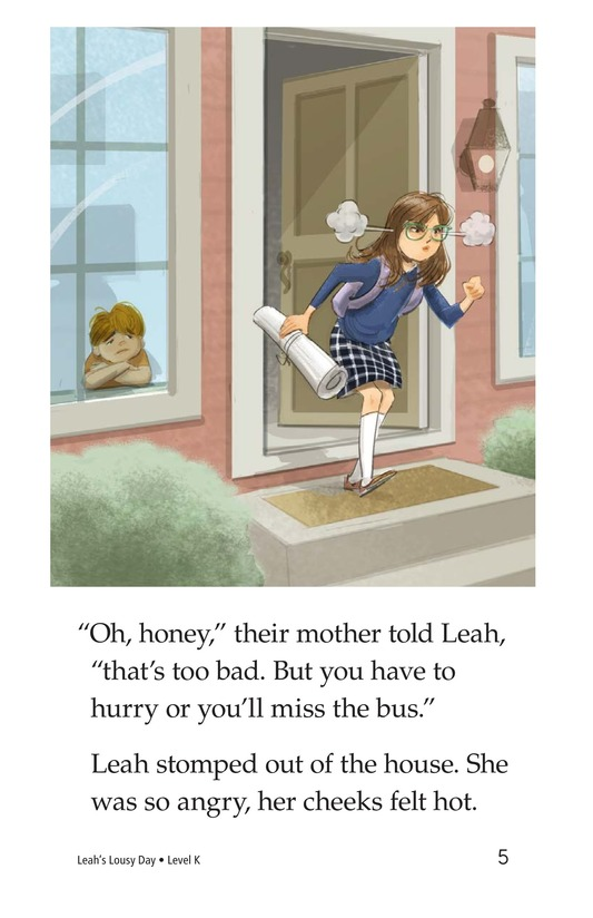 Book Preview For Leah's Lousy Day Page 5