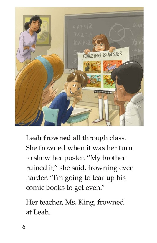 Book Preview For Leah's Lousy Day Page 6