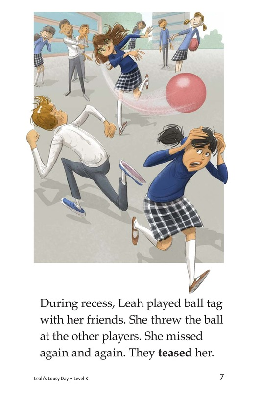 Book Preview For Leah's Lousy Day Page 7