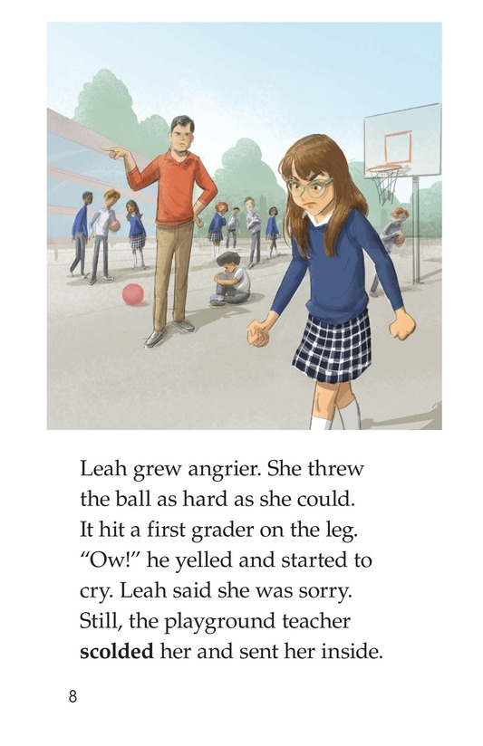 Book Preview For Leah's Lousy Day Page 8