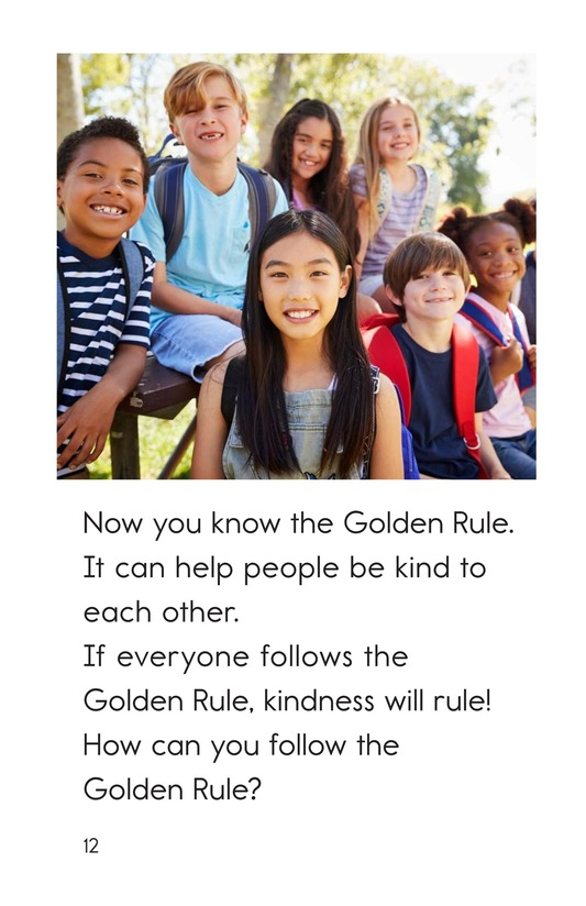 Book Preview For The Golden Rule Page 12