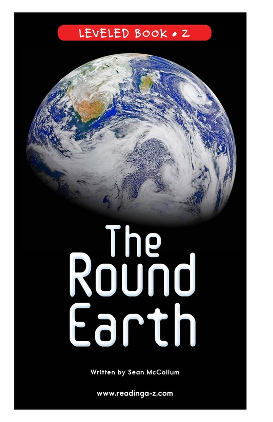 Book Preview For The Round Earth Page 0