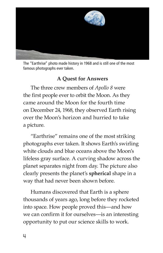 Book Preview For The Round Earth Page 4