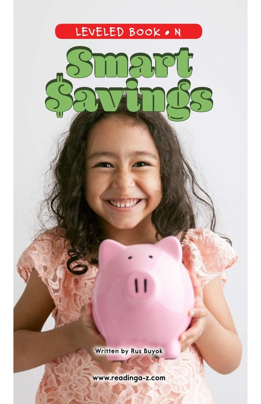 Book Preview For Smart Savings Page 0