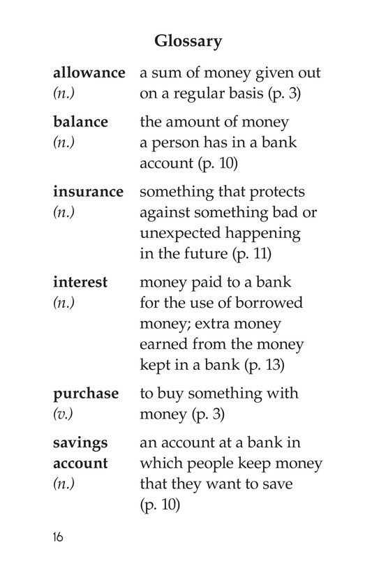 Book Preview For Smart Savings Page 16