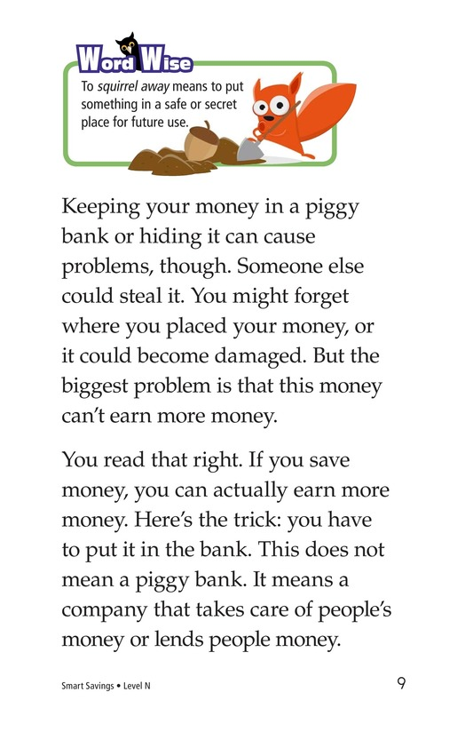 Book Preview For Smart Savings Page 9