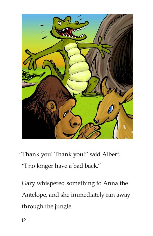 Book Preview For Albert the Angry Alligator Page 12