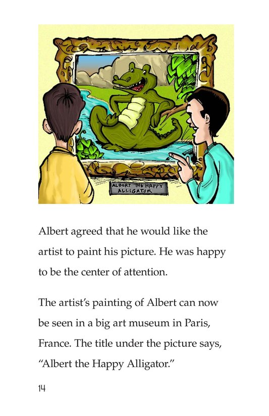 Book Preview For Albert the Angry Alligator Page 14