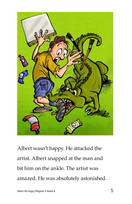 Book Preview For Albert the Angry Alligator Page 5