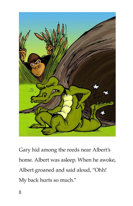 Book Preview For Albert the Angry Alligator Page 8