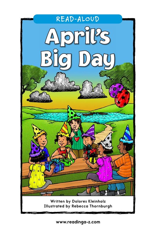 Book Preview For April's Big Day Page 1