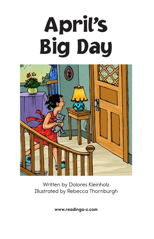 Book Preview For April's Big Day Page 2