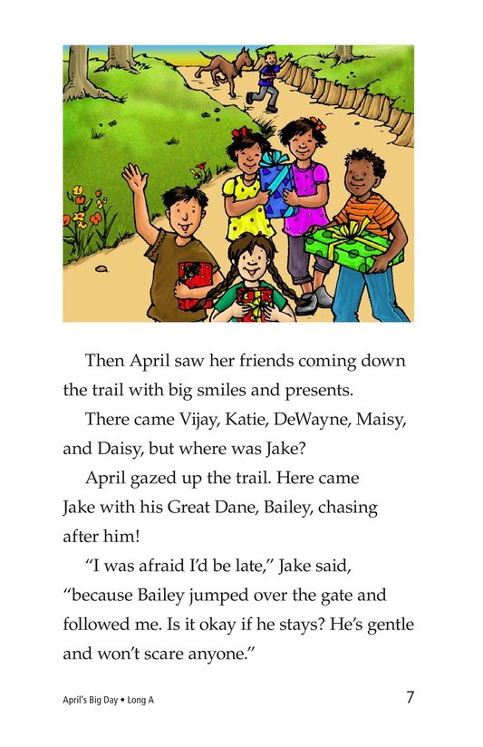 Book Preview For April's Big Day Page 7
