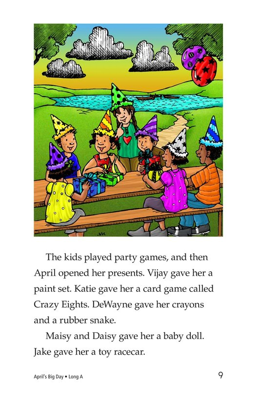 Book Preview For April's Big Day Page 9