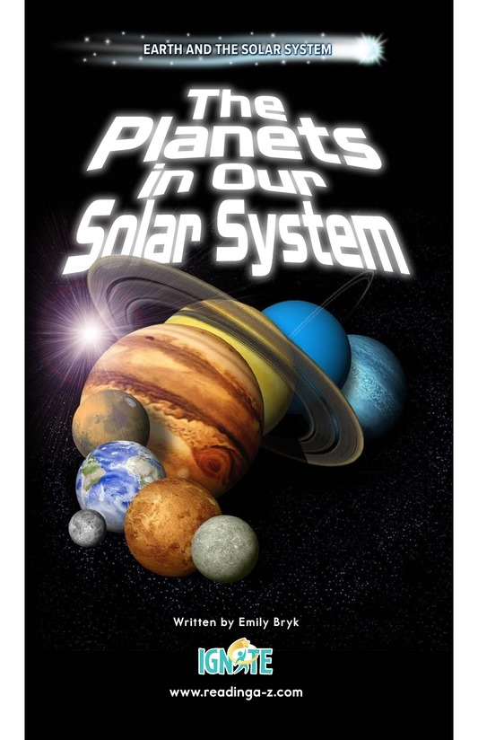 Book Preview For The Planets in Our Solar System Page 0
