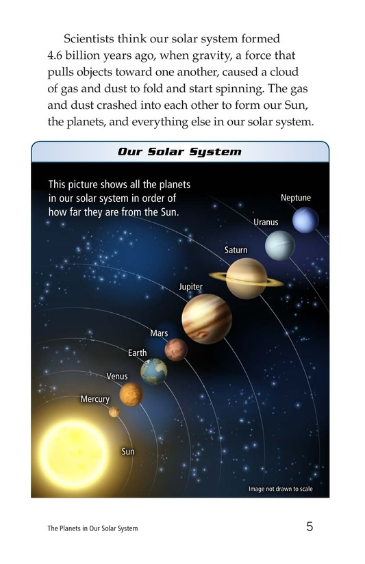 Book Preview For The Planets in Our Solar System Page 5