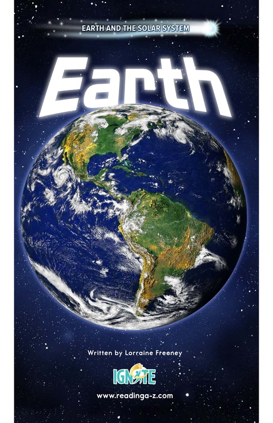 Book Preview For Earth Page 0