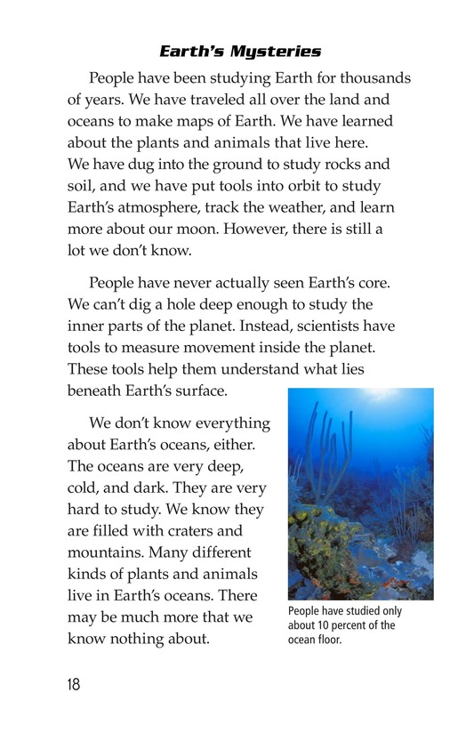 Book Preview For Earth Page 18