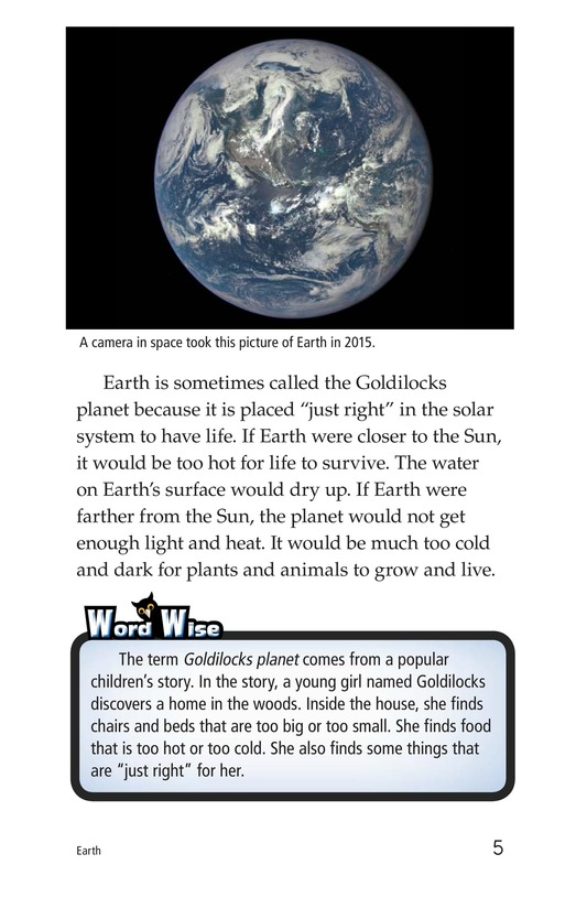 Book Preview For Earth Page 5