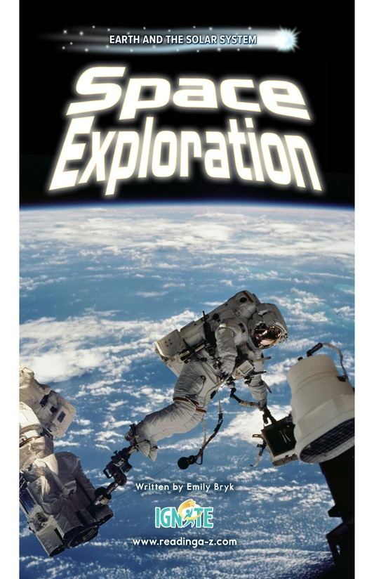 Book Preview For Space Exploration Page 0