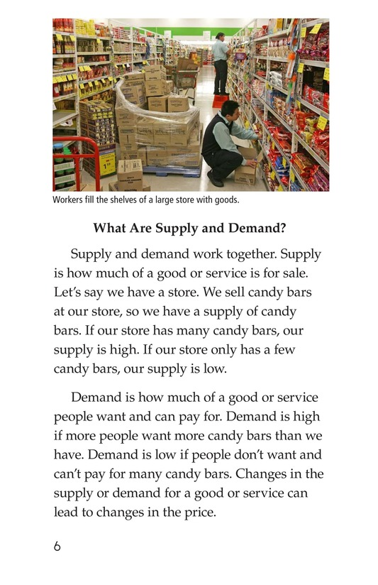 Book Preview For Supply and Demand Page 6