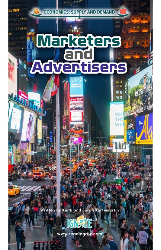 Book Preview For Marketers and Advertisers Page 0