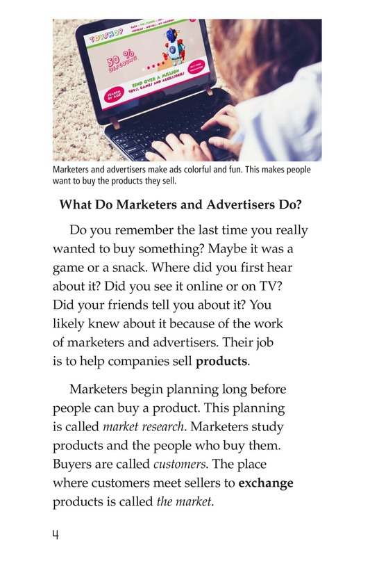 Book Preview For Marketers and Advertisers Page 4