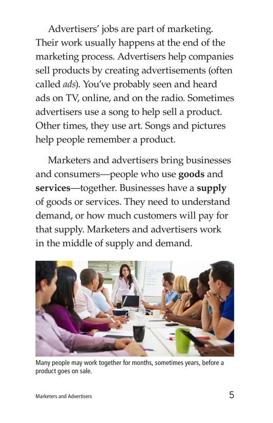 Book Preview For Marketers and Advertisers Page 5