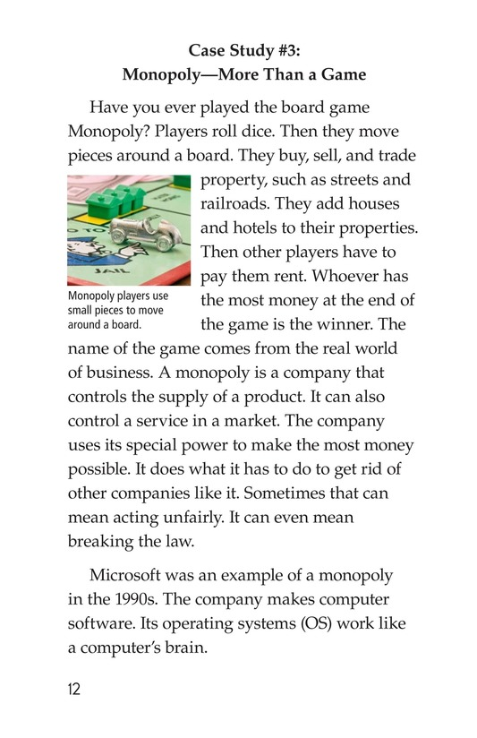 Book Preview For Case Studies in Supply and Demand Page 12