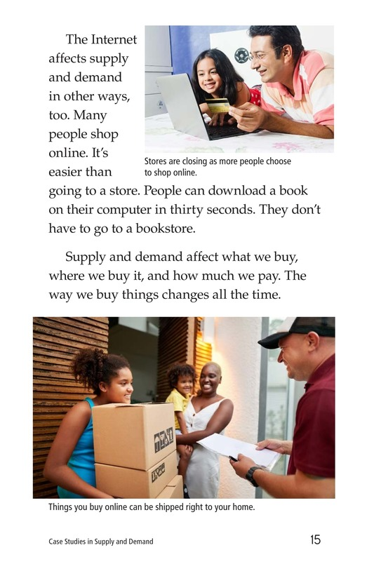 Book Preview For Case Studies in Supply and Demand Page 15