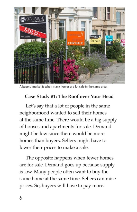 Book Preview For Case Studies in Supply and Demand Page 6