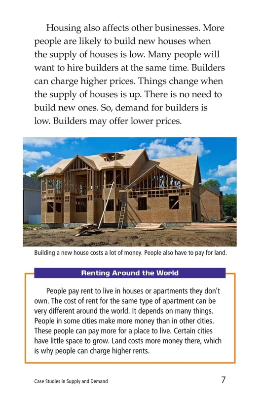 Book Preview For Case Studies in Supply and Demand Page 7