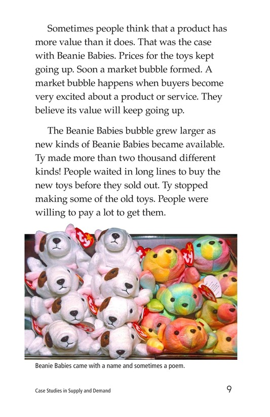 Book Preview For Case Studies in Supply and Demand Page 9