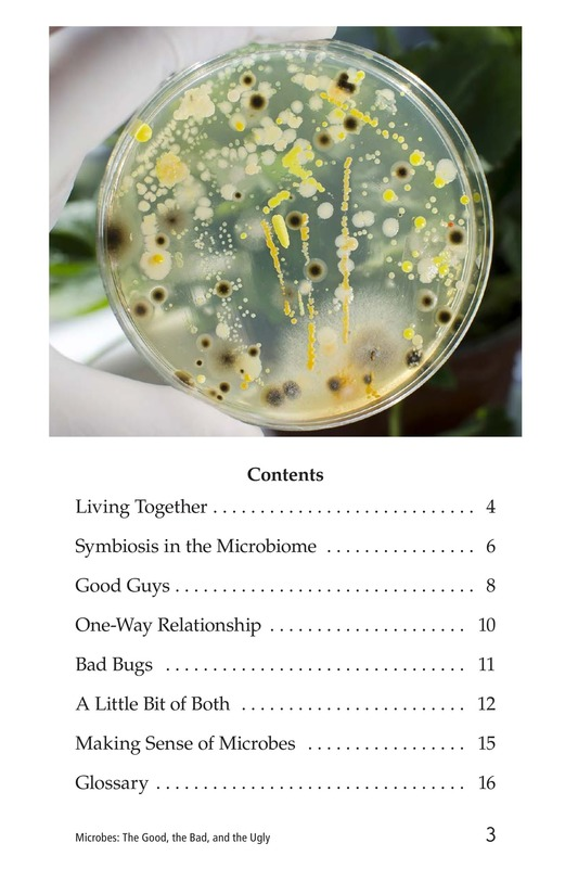 Book Preview For Microbes: The Good, the Bad, and the Ugly Page 3