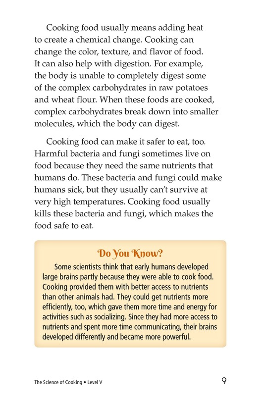 Book Preview For The Science of Cooking Page 9
