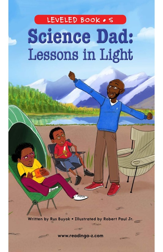 Book Preview For Science Dad: Lessons in Light Page 0