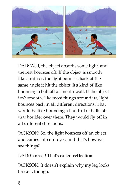 Book Preview For Science Dad: Lessons in Light Page 8