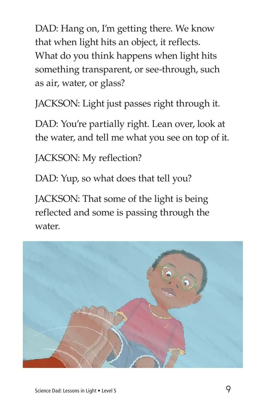 Book Preview For Science Dad: Lessons in Light Page 9