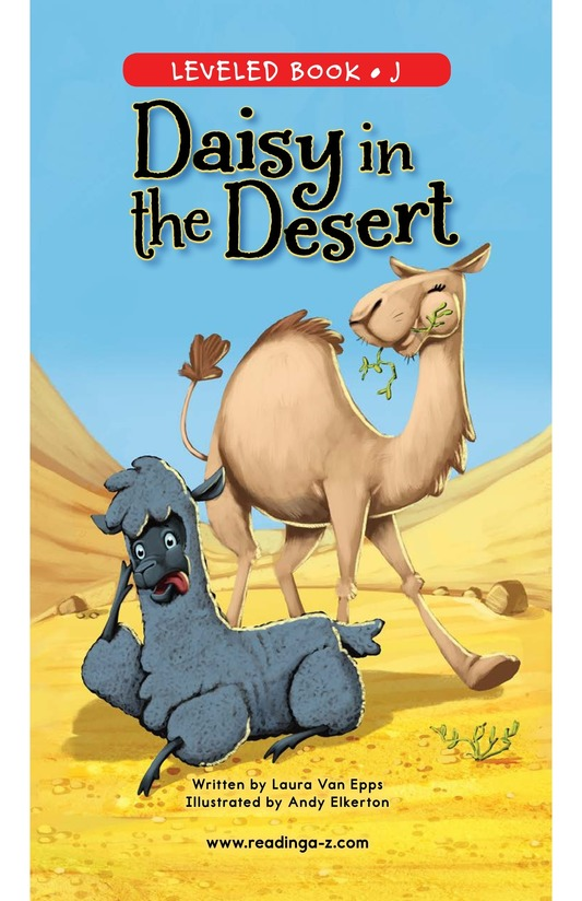 Book Preview For Daisy in the Desert Page 0