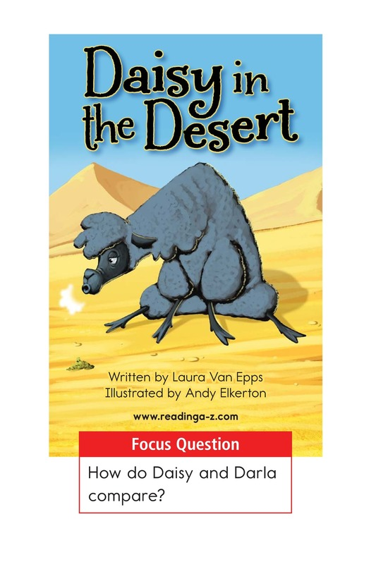 Book Preview For Daisy in the Desert Page 1
