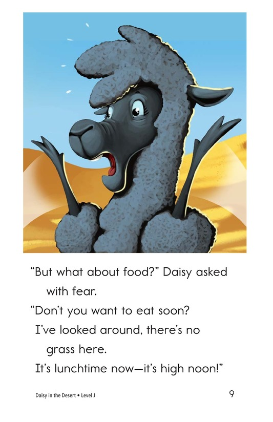 Book Preview For Daisy in the Desert Page 9